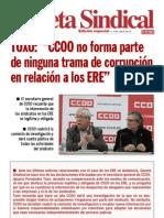 Gaceta Sindical (Edicion Especial n 148) Trama de Corrupcion en Relacion a Los ERE