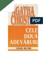 Cele Doua Adevaruri- Aghata Christie