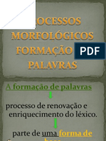 processos morfolgicos
