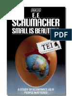 E. F. Schumacher - Mic înseamnă frumos. Economie cu chip uman - TEI