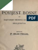 Milan Prelog-povijest Bosne