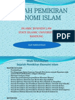 Sejarah pemikiran ekonomi islam