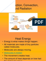 Conduction, Convection, & Radiation