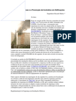 Instalações Elétricas e a Prevenção de Incêndios em Edificações