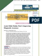 Acute Otitis Media_ Part I