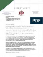 Garrett letter