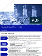 Market Research Report :Medical Devices Market in India 2013
