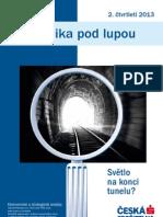 Česká Ekonomika pod lupou, Duben 2013 (www.csas.cz)