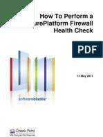 Checkpoint Firewall Health Check