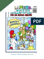 Ponto de Apoio - Revista Planeta Azul - RESPEITO E CONVIVENCIA - Agosto de 2012