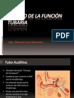 ESTUDIO FUNCION TUBARIA