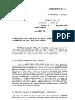 ASIGNACIÓN ANTICIPADA DE ALIMENTOS NATALY GISELA MILLA PADILLA