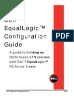 Dell EqualLogic Configuration Guide