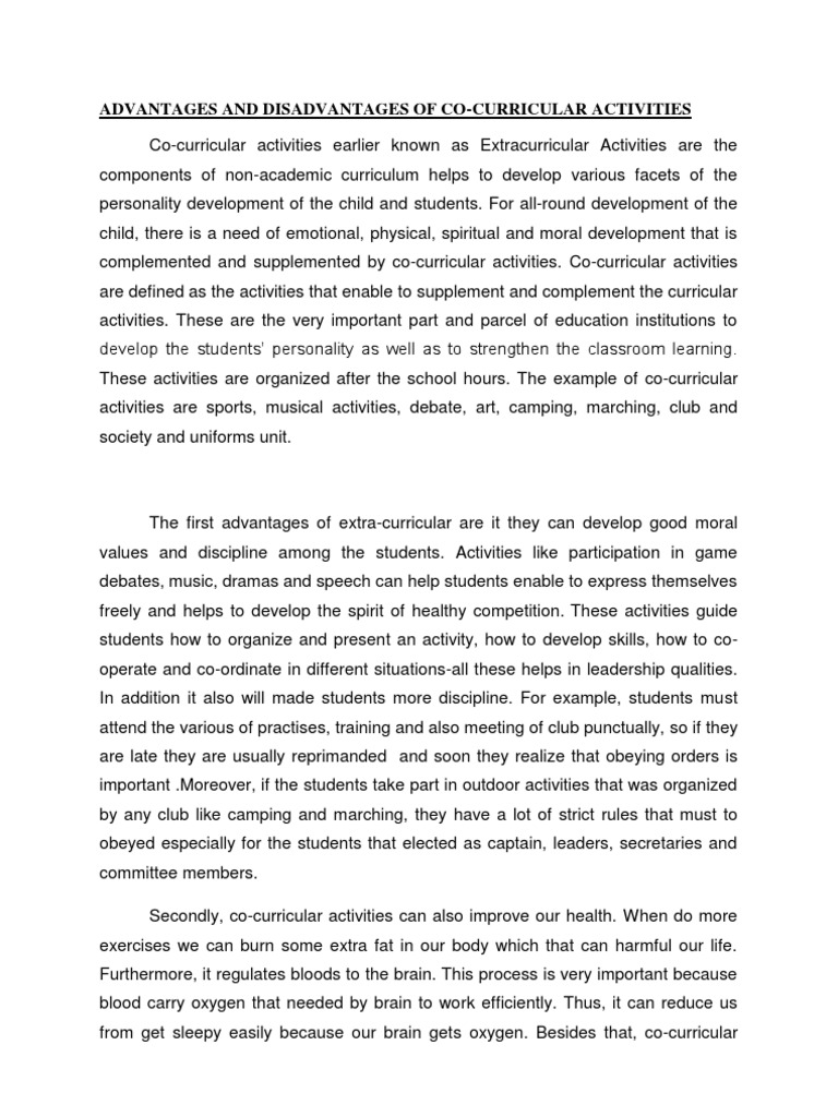 essay on extracurricular activities extracurricular activities a  activities essay activities essay arhelloip eliminating extracurricular activities essay essay