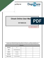 Ctrack Online V2.19 User Manual