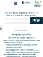 Standard-Based Integration Profiles for Clinical Research and Patient Safety_Introduction