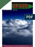 Buletin Stasiun Meteorologi Sultan Mahmud Badaruddin II Palembang Edisi Februari-Maret 2013