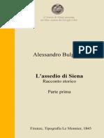 A. Bulgarini – L'assedio di Siena – Parte prima