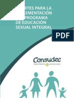 Aportes Para La Implementacion Del Programa de Educacion Sexual[1]