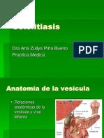 23. Colelitiasis.ca Vesicula. Dr Rios 2008 (PPTminimizer)