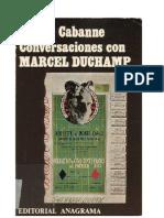 Pierre Cabanne-Conversaciones Con Marcel Duchamp