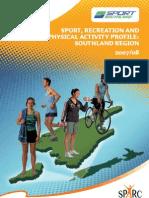 Regional Sports Trust Profile Southland