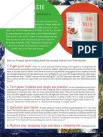 Zero Waste Earth Day Tips by Bea Johnson