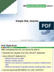 4-Simple SQL Queries