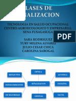 CLASES DE SEÑALIZACION