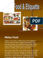 Malay Culture Project - Malay Food & Etiquette [Autosaved]