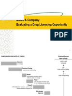 merck & company the drug licensing opportunity