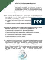 LISTA DE EXERCÍCIOS 2 ENGENHARIA CIVIL