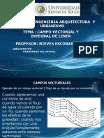 Campo Vectorial y Integral de Linea (1)