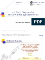 On Board Diagnosis for Three-Way Catalytic Converters
