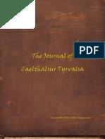 The Journal of Caelthalsur Tyrvalsa