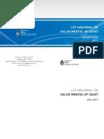 Ley Nacional N° 26657 - Salud Mental Argentina - 2010