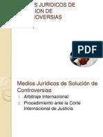 Medios Juridicos de Solucion de Controversias