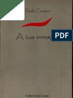Cordaro Paolo - A Tua Immagine