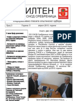 Bilten broj 3, Informativno glasilo OO SNSD Srebrenica, april 2013. godine