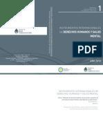 MSAL- Instrumentos Internacionales de Derechos Humanos y Salud Mental