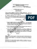 Acuerdo Consejo Directivo Comite de Calidad