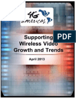 Supporting wireless video Growth and Trends
