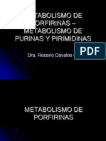 Metabolismo de Porfipurin