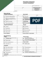 Förenklat Årsbokslut Enskild Firma