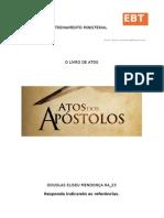 O Livro de ATOS