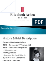 Elizabeth Arden Presentation