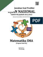 Kunci Jawaban Soal Prediksi UN Matematika IPA SMA 2013.pdf