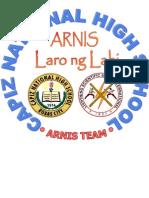 Arnis Pin Logo