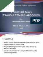 Presentasi Trauma Abdomen
