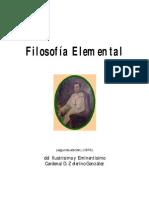 Filosofia Elemental; Zeferino Gonzalez